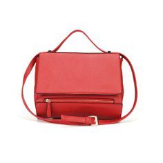 Women Fashion Red/ Black Cross Body Bag