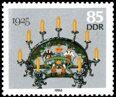Stamp DDR  1986