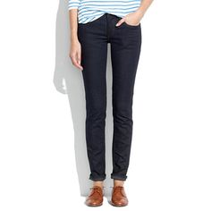 Madewell SkarGorn™ Stix Slim Straight Jeans | Just bought these too.....LOVE THESE JEANS! Super relaxed, stretchy & soft. GREAT JEANS!