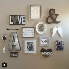 Some of my favorite #gallerywalls @sheleavesalittlesparkle thanks for the #inspiration #swirlytwirlydesigns