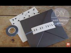 DIY - Invitationer - Søstrene Grene