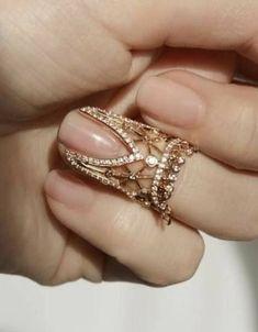 Nails Wedding Sparkle Bride Ideas For 2019 - diamond jewellery - Hand Jewelry, Body Jewelry, Jewelry Accessories, Jewelry Necklaces, Jewelry Design, Jewelry Shop, Jewelry Making, Stylish Jewelry, Cute Jewelry