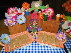 Festa Junina - Decoração de aniversário
