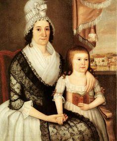 1795 Joseph Steward (1753-1822) Pamela Sedgwick (1753-1807) of Stockbridge MA.