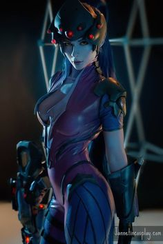 Jannet Incosplay as Widowmaker from Overwatch