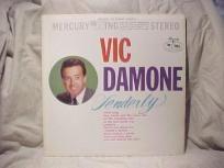 """VIC DAMONE TENDERLY """"VINTAGE"""" LP"""