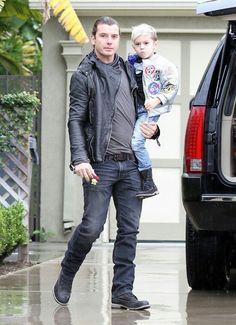 Gavin Rossdale in AG Ardiano Goldschmied jeans # men's fashion #denim pant # dark wash # vintage wash # low waist # slim fit #