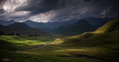 Moody Day in a Valley of the Lotheni Mountains Explore, Mountains, Landscape, Day, Nature, Photography, Travel, Scenery, Naturaleza