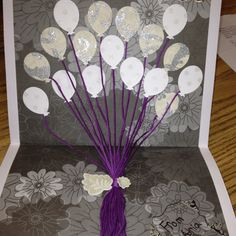 I thought hmmm Why don't I make a birthday card pop up, so fun and easy to make.