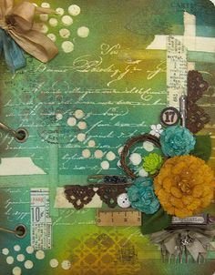 Scrapbook Daisies: Monthly Mixed Media Technique Journal by Ly T. Le