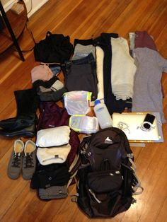 Traveling light on a tour of Turkey.