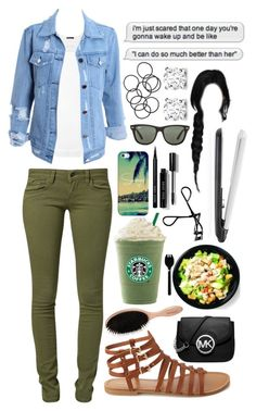 I can do so much better by dyciana on Polyvore featuring polyvore, fashion, style, ATM by Anthony Thomas Melillo, Mavi, Forever 21, Michael Kors, Asprey, Casetify, Ray-Ban, H&M, Bobbi Brown Cosmetics and T3