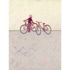 limited edition art print  Bike Ride by jenniferdavis