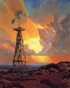 """Kenneth Wyatt, """"Country Morning"""""""