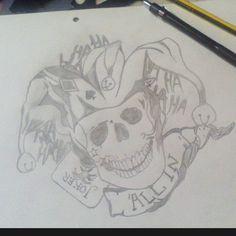 #hobby #drawing #madjoker #allin #befree #behappy #tattoo