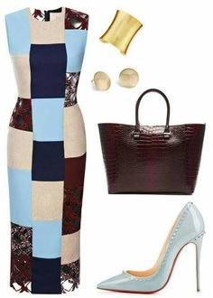 Does this patchwork dress work for you?
