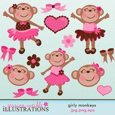 Girly Monkeys