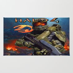 Halo 4 rugs best design #Halo4 #rugsideas #rug #birthdaygift #Christmasgift #offer #cheapsale #sales #homedecoration #bedroomdecoration