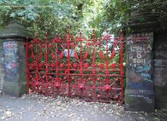 The gate at Strawberry Fields--more Beatles photos on blog. DUNHAVEN PLACE: Liverpool, the Beatles, Strawberry Fields (Forever), Penny Lane, the Cavern Club and the Beautiful River Mersey