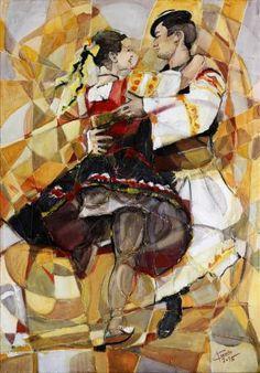 Original Paintings, Original Art, Artwork Online, Saatchi Art, My Arts, Dance, Retro, Artist, Pictures