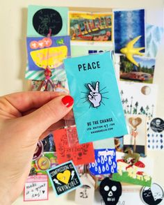 Peace Pin! 💕✌ by Kat Marshello  #kmarshelloart