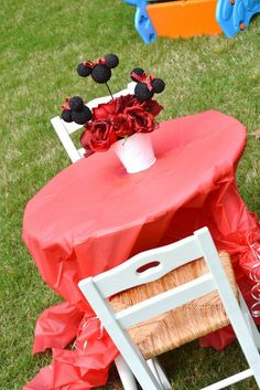 "Photo 5 of 35: Minnie Mouse / Birthday ""Evey's 2nd Birthday "" 