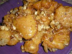 Make and share this Loukoumades (Greek Honey Dumplings) recipe from Food.com.