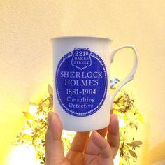 日々使っていた新潮パンダのマグカップが破壊されてしまったのでとうとうこれを出す日が来たようだぜ ロンドンのホームズ博物館で購入  #sherlockholmes #magcup bought at #sherlockholmesmuseum in London.