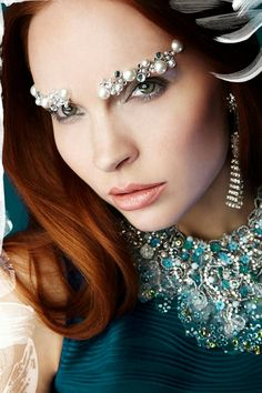 The Frost yourself Necklace Exquisite rhinestone by Monikque, $599.00
