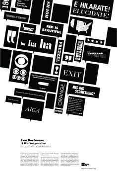 Heck House » Lou Dorfsman Poster