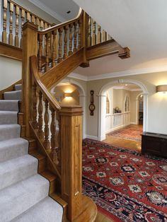 Amazing solidwood staircase