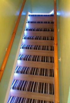 Carpet And Laminate Wood On Stairs Modern Hallway, Modern Staircase,  Staircase Ideas, Hallway
