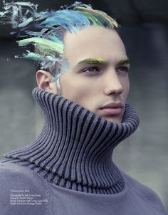 [Work Is Never Over by Andy Long Hoang for Carbon Copy] So, so in love with this look.