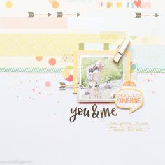 You & me by Veera #scrapbook