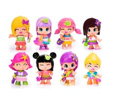 I Hosted MommyParties Pinypon Event! Check Out These Interchangeable Fashion Dolls! Doll Toys, Barbie Dolls, Bloom Winx Club, Barbie Life, Anime Figures, Cute Characters, Craft Items, Fun Learning, Vintage Toys