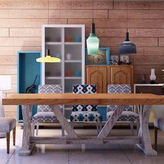 industrial retro kitchen@badie.architects #badiearchitects