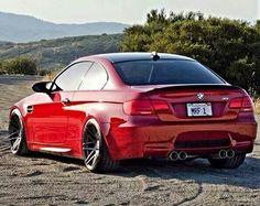 Bmw E92 M3 Red Bmw Sports Cars Luxury Bmw Love