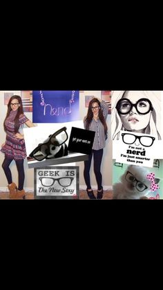 fc880854265 Nerd fashion glasses Cutesy frame photography