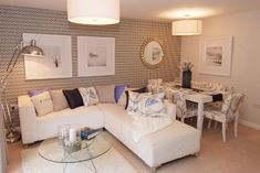 Lounge @ Lyttleton Grange, Stourbridge, Worcestershire by David Wilson Homes