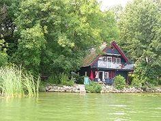 Reetdachhaus mit Seegrundstück in Bad Kleinen am Schweriner See