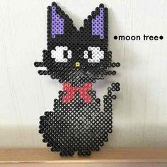 メルカリ - 黒猫●ジジ●ハンドメイドアイロンビーズオーダー受付中 【置物】 中古や未使用のフリマ