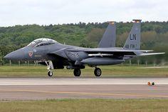 01-2004\LN F-15E 48th FW, 492nd FS 'Bolars' Marked '48th FW', RAF Lakenheath. | by Stuart Freer - Touchdown Aviation