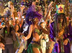 Attend Mardi Gras