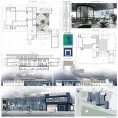 Josef Alberts by me. #architecture#reconstruction#concept#just blue#cultural#center#restaurant