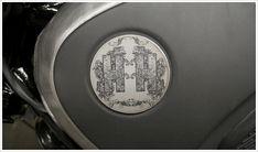laser engraved tank badge!