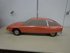 OG | 1974 Citroën CX | Scale clay model