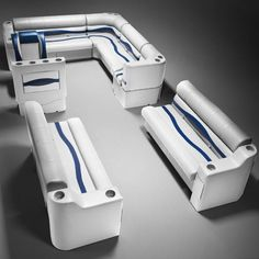 The All Inclusive Luxury Motor Yacht Charter Pontoon Furniture, Boat Furniture, Big Yachts, Luxury Yachts, Pontoon Boat Seats, Best Pontoon Boats, Plastic Injection Molding, Boat Accessories, Classic Motors