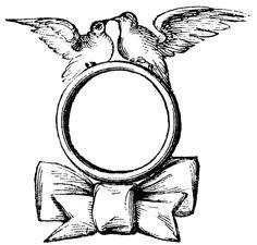Vintage Wedding Clip Art