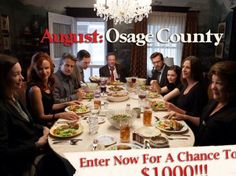 August: Osage County Sweepstakes