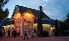 Abbott's Frozen Custard,  Charlotte Beach, Rochester, NY  Oh the best Ice Cream in Rochester NY